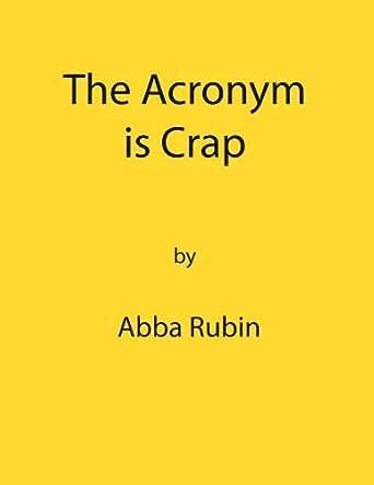 Craps acronym