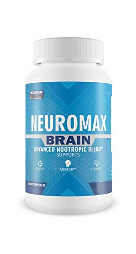Neuromax Brain - Advanced Nootropic Blend - Increase Focus, Memory, and Clarity - 30 Capsules