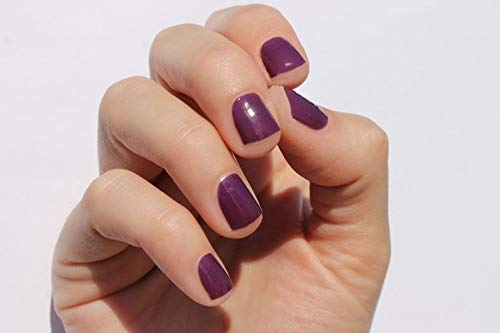 Solid Plum Nail Wraps by Nail Wraps