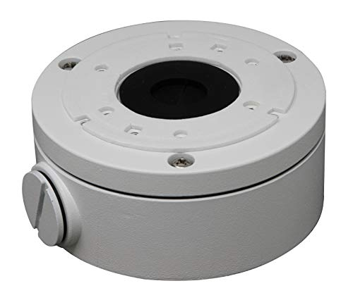 Box Video Camera - DS-1280ZJ-XS Alluminum Bracket Junction Back Box for Hikvision DS-2CD2042WD-I, DS-2CD2032-I Series Bullet Cameras 1 Pack