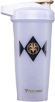 PERFORMA ACTIV (Power Rangers) 28oz Shaker Bottle, Best Leak Free Bottle with ActionRod Mixing Technology for