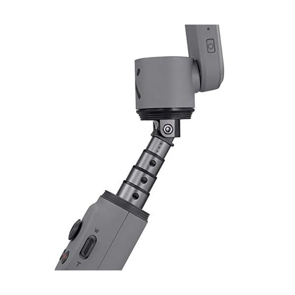 ZHIYUN Smooth-X Ufficiale Smartphone Pieghevole Stabilizzatore del Giunto Cardanico Stick per Selfie Vlog Youtuber (Grigio) 4 spesavip