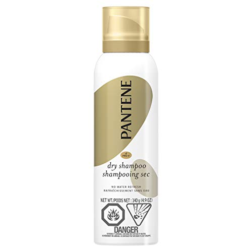 Pantene Pro-V Dry Shampoo to Refresh Hair without Washing, 140 g, packaging may vary