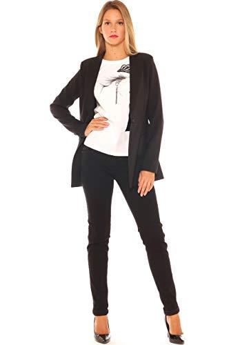 Nero Smoking Elegante di Donna Key Giacca w4zqUxX6