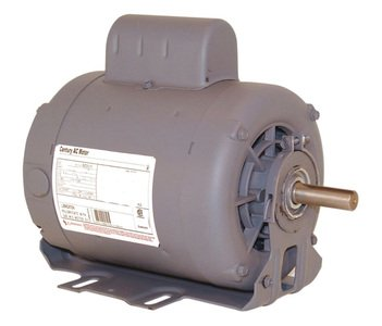 Century 3/4, 1/3 HP Belt Drive Motor, Capacitor-Start, 1725/1140 Nameplate RPM, 115 Voltage, Frame 56 - C741V1 by Century