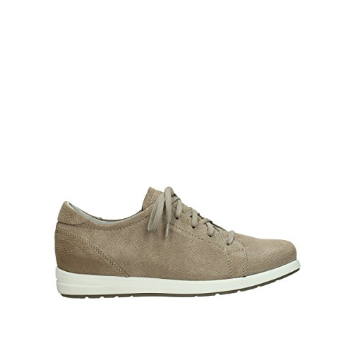 Wolky Comfort Sneakers Kinetic 20150 taupe Leder