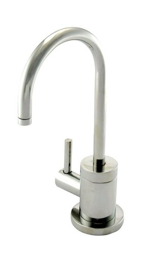 Newport Brass 106H East Linear Single Handle Hot Water Dispenser from the 940 Se, Polished Nickel