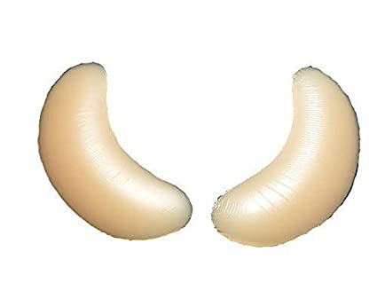 6359526444e Image Unavailable. Image not available for. Colour  Gel Breast Enhancers Chicken  Fillets Pads Bra ...
