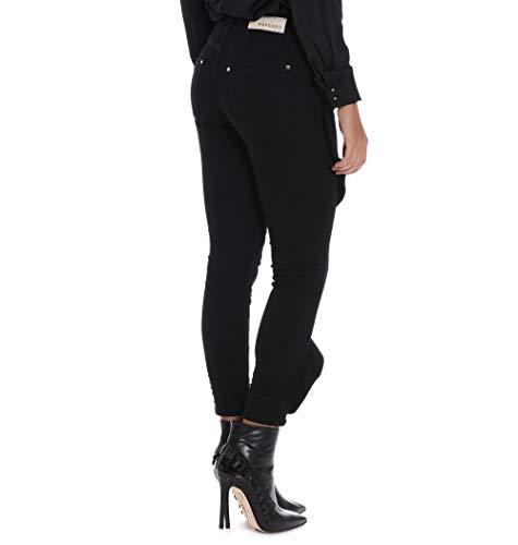 Negro Algodon Pmng002790001 Jeans Mangano Mujer 0wZqa10O