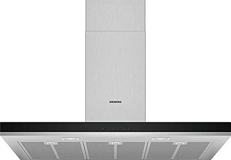 Siemens iQ300 LC97BHM50 campana 710 m³/h De pared Acero inoxidable B: 312.18: Amazon.es: Hogar