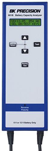 Sla Analyzer Capacity Battery 12v - B&K Precision 601B SLA Battery Capacity Analyzer, 6/12V, Blue/White