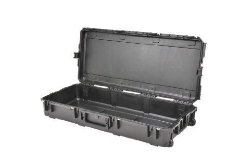 SKB Injection Molded Water-tight Case 42 x 17 x 8 Inches Empty with wheels (3I-4217-7B-E) by SKB