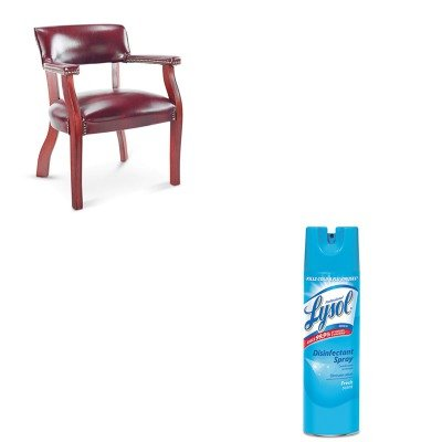 KITALECE43VY31MYRAC04675EA - Value Kit - Best Traditional Series Guest Arm Chair (ALECE43VY31MY) and Professional LYSOL Brand Disinfectant Spray (RAC04675EA)