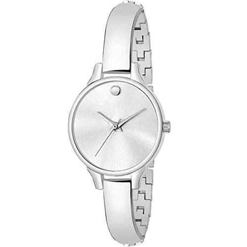 Varni Retail Silver Bangle Analog Watch   for Girls and Women