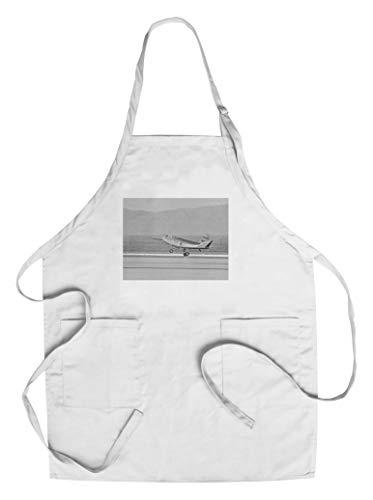 HL-10 First Flight Landing Photograph (Cotton/Polyester Chef's Apron) (Hl Ap)