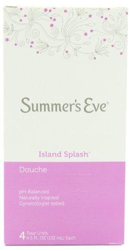 Summer's Eve Douches Island Splash 4 ea