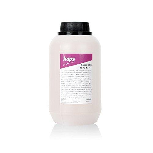 Kaps Tintura Super 500 Colorazioni Tessili Bianco Ml Varie Sintetica E Naturale 101 Color Pelle Per rHrdxaq