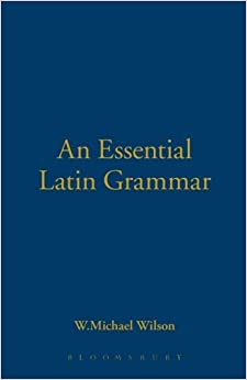 Book An Essential Latin Grammar