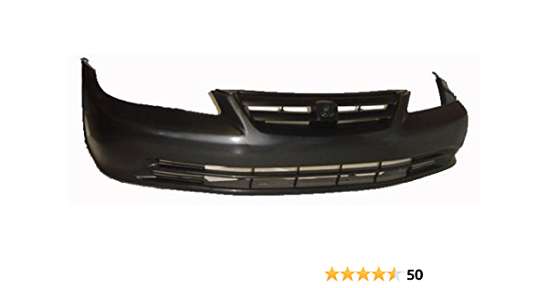 Partslink Number HO1000212 OE Replacement Honda Accord Front Bumper Cover