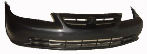 OE Replacement Honda Accord Front Bumper Cover (Partslink Number HO1000196) ()