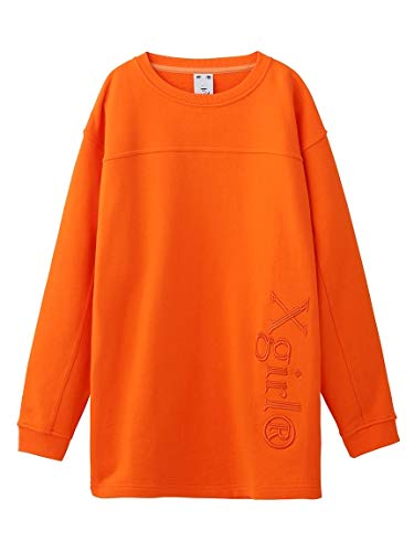 X-girl(エックスガール) WELL-KNOWN LOGO SWEAT L/S TOP