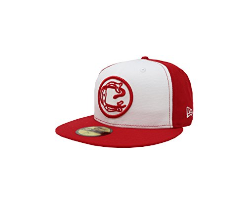 New Era 59Fifty Hat Chivas De Guadalajara Retro Liga MX White/Red Fitted Cap (7)