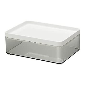 IKEA BROGRUND Box Badezimmeraufbewahrung; (20x14x7cm): Amazon.de ...