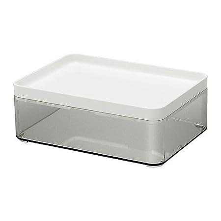 Ikea Brogrund Box Bathroom Storage 20x14x7cm Amazon Co Uk
