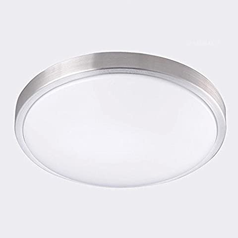 AFSEMOS 10-Inch LED Flush Mount Ceiling Light, 12W 1050LM 80W Incandescent (22W Fluorescent) Bulbs Equivalent, Round Flush Mount Lighting, LED Ceiling Light for Kitchen Bathroom Dining Room