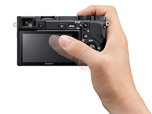 Camera: APS-C Lens Digital Camera with Real-Time Eye Auto Focus, 4K Video, Flip & 18-135mm Lens - E Compatible Cameras -