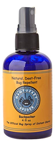 - Nantucket Spider Best Natural Bug Repellent Essential Oil Mosquito Spray Insect Repellent Travel Size (4 Ounce Size) Humans, Kids, Horses, Skin, Clothes Organic Oils Best Natural Bug Spray