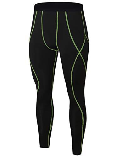 帰する悪性運動Kimikal コンプレッションタイツ メンズ ログタイツ 接触冷感 UVカット インナー 着圧