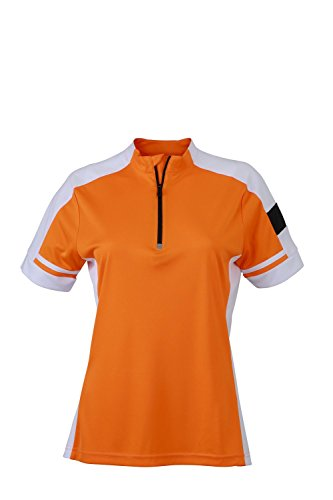 2store24 Zip Ciclismo 2 Mujer Naranja Jersey 1 r7axZwrq