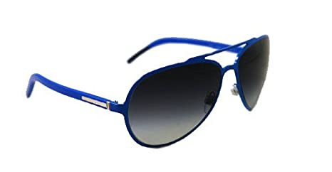 2beed104081b Dolce   Gabbana DG 2081 (458 8G) AZURE w  GRAY GRADIENT lens 60mm 15mm   Amazon.co.uk  Clothing