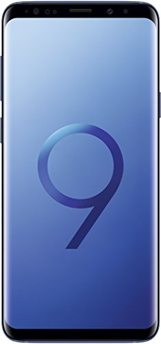 Samsung Galaxy S9+ Plus (6.2″, Single SIM) 128GB SM-G9650 Factory Unlocked 4G Smartphone (Coral Blue) – International Version