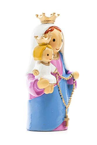 Little Drops of Water: Our Lady of the Rosary Statue