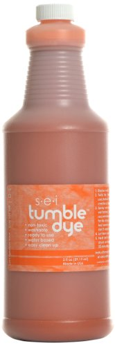Sew Easy Industries Tumble-Dye Bottle, 1-Quart, Sports Orange by Sew Easy Industries