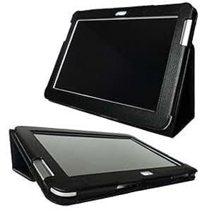 Funda piel para SAMSUNG GALAXY NOTE 10.1 N8000 N8010 Color Negro