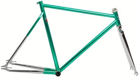 Cuadro fijo de bicicleta 4130 acero al cromo molibdeno fixie 700C ...