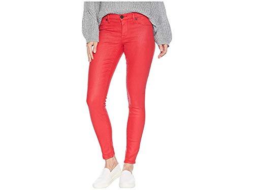 Blank Denim Women's Coated Skinny Jeans, Fast Track, Red, 25