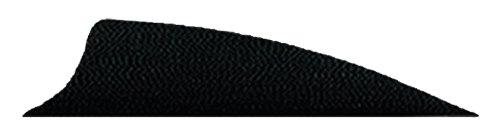 Bohning 1.75-Inch Shield Cut X-Vanes (100-Pack), Black