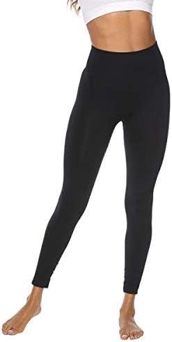 Leggings Mujer para yoga de alta cintura, pantalones deportivas para mujer, ropa deportiva para running, fitness y gym 4