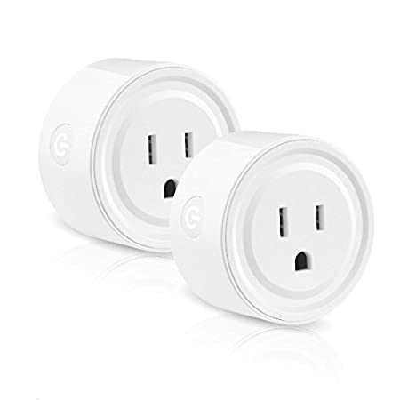 Smart Home Devices Smart Life Wifi Smart Socket Compatible with Echo Smart Plug Compatible with Alexa Remote Control Devices from Anywhere EZH Google Home No Hub Required Wifi Mini Smart Life Outlet