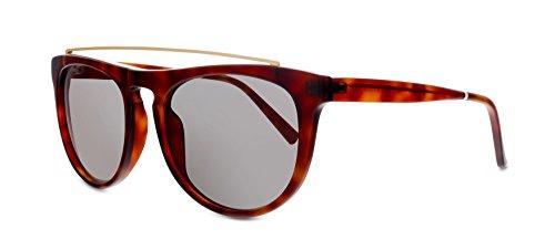 Smoke X Mirrors Road Runner Unisex Sunglasses SM118 Based in New York City, Handmade in France (Tortoise, - Smoke Sunglasses Mirrors X