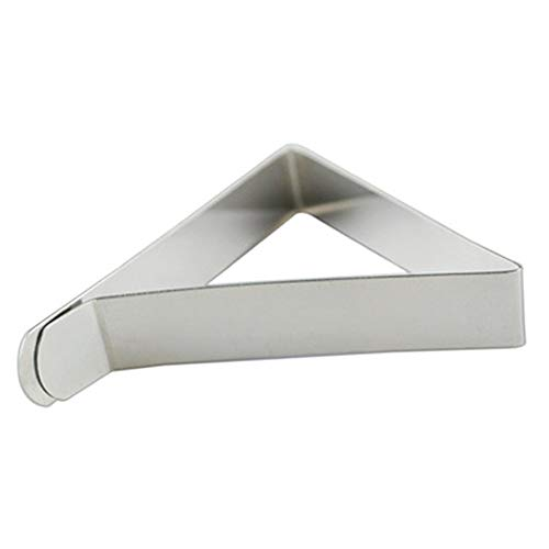 Wilove Tablecloth Clips, Stainless Steel Table Cloth Cover Clamps Strong Table Cloth Holders for Indoor, Outdoor, Home, Wedding,Picnic, Party