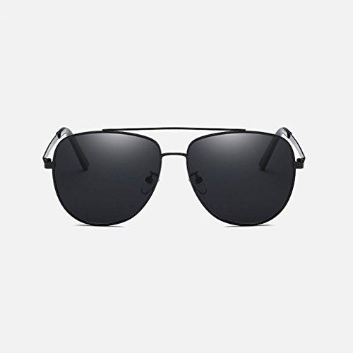 de de lens clásica silver nueva Lens polarizadas LX conducción Gafas frame Silver water Gray Frame Hombres Black libre LSX Gafas de Black aire sol viaje al Color 1xnw60zCq