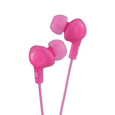 Pink JVC Gumy Plus Inner-Ear Earbuds ( 50 PACK ) BY NETCNA