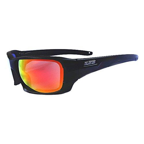 EDTara Polarized Sports Sunglasses Full Frame Sunglasses Windproof Ultraviolet-proof Wraparound Military Glasses for Men Women Cycling Running - Sunglasses Cheap Dragon