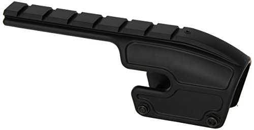(Weaver Remington 870/1100/1187 48340 Saddle Mount Polymer Matte Black)