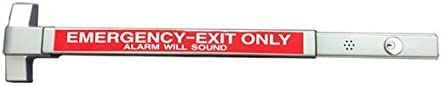 Commercial Exit Device Panic BAR with Alarm